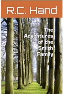 Book cover, The Adventures of the Smith Family
